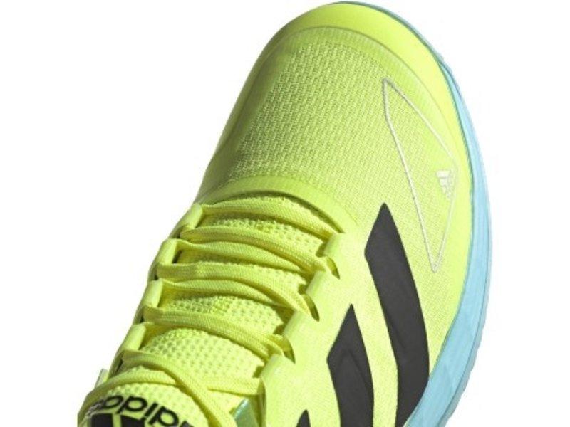 Adidas Adizero Ubersonic 4 Yellow/Black/Sky Men's Shoe