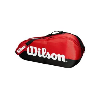 Wilson Team Red/Black 3-Pack Bag