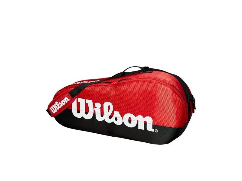 Wilson Team Red/Black 3-Pack Bag
