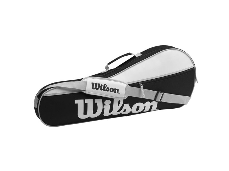 Wilson Advantage Pro Triple 3 Pack Bag BK/Wh/Gy