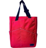 Maggie Mather Tennis Tote Red
