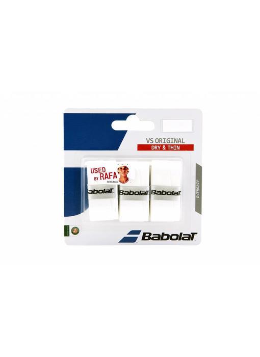 Babolat VS Original Overgrip 3 pack (Various Colors)