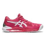 Asics Gel Resolution 8 Pink Camo/White Women's Shoe