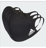 Adidas Face CVR Masks Med/LG 3 Pack Black