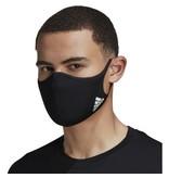 Adidas Face CVR Masks Small 3 Pack Black