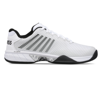 K-Swiss Hypercourt Express 2 Wide 2E Men's Tennis Shoes Barely Blue and White