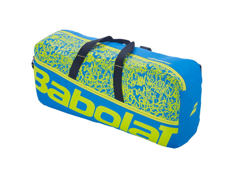 Babolat Babolat Classic Tennis Duffle Bag Blue/Yellow Lime