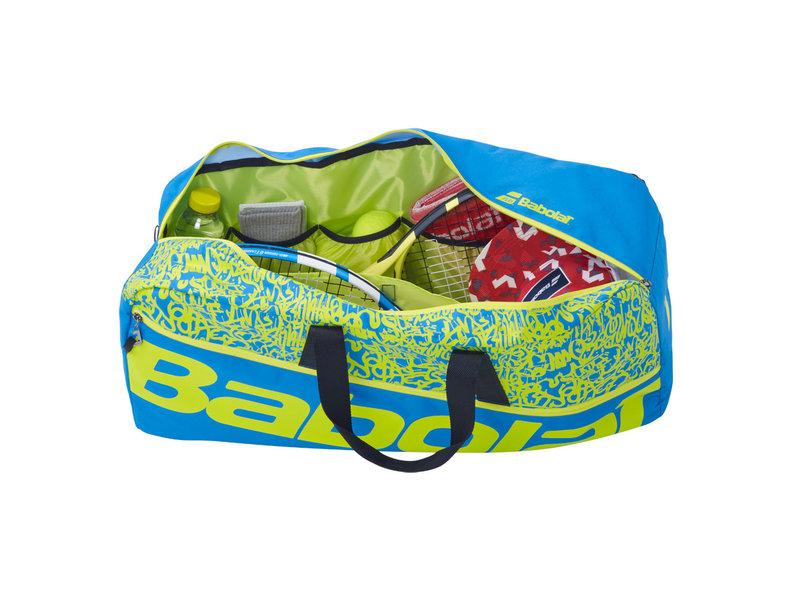 Babolat Babolat Classic Tennis Duffle Bag Blue/Yellow Lime