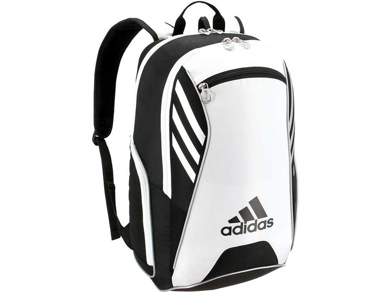 Adidas Tour Tennis Racquet Backpack White/black