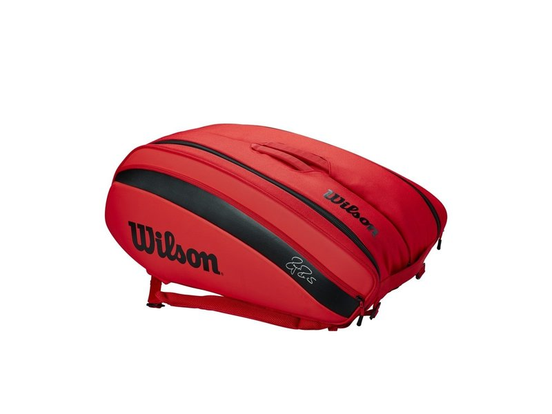 Wilson RF Federer DNA 12 Pack Bag  Infrared