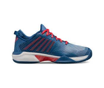 K-Swiss Hypercourt Supreme Blue/Red Men's Shoes