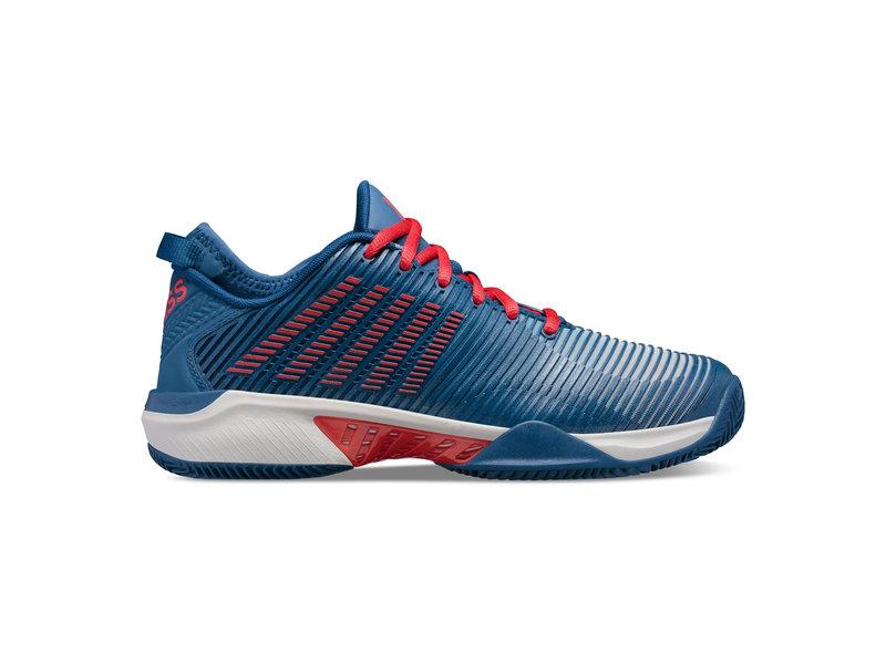 K-Swiss Hypercourt Supreme Blue/Red Men's Shoes
