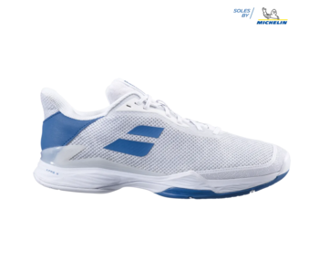 Babolat Jet Mach Tere All Court White/Saxony Blue