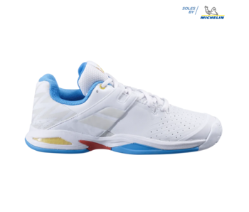 Babolat Propulse AC White/Diva Blue Junior