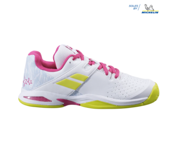 Babolat Propulse AC White/Red Rose Junior