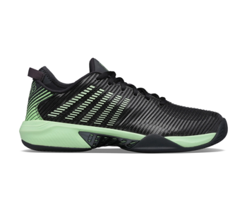 K-Swiss Hypercourt  Supreme Black/Neon Green Men's Shoes