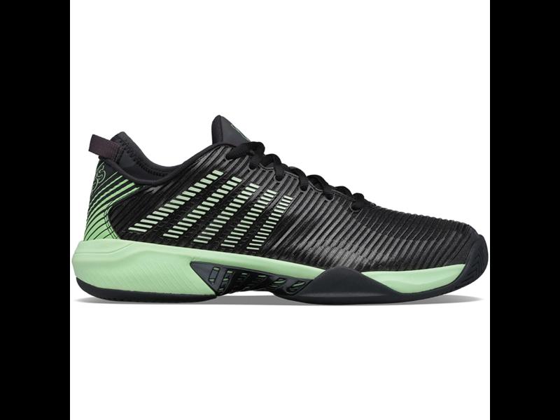 K-Swiss Hypercourt  Supreme Black/Neon Green Men's Shoes