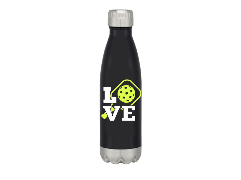 """LOVE"" Pickleball Waterbottle"
