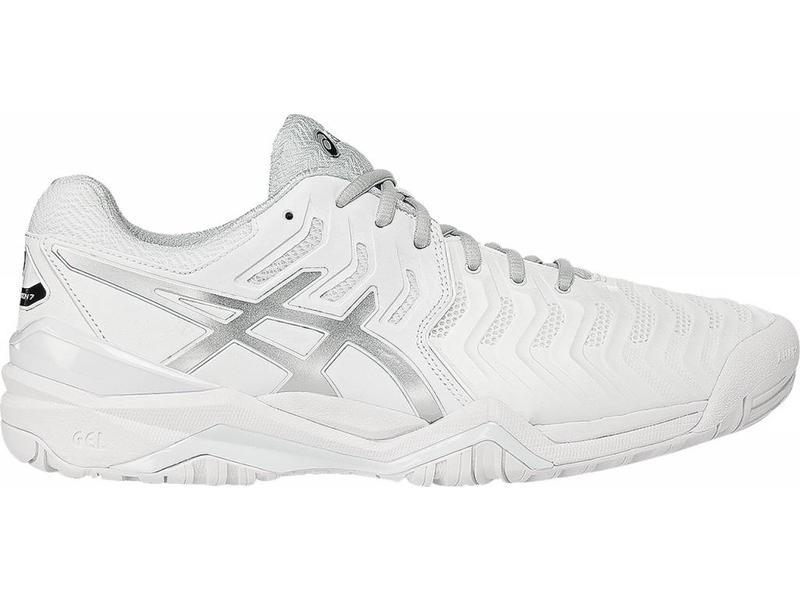 Asics Gel Resolution 7 White/Silver Men's Shoes