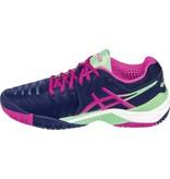 Asics Gel Resolution 7 Indigo/Pink/Green Women's Shoes