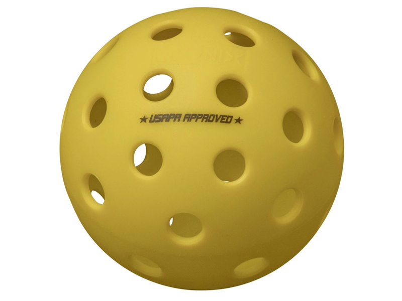 ONIX Onix Fuse G2 Outdoor Pickleball Yellow 3 Balls