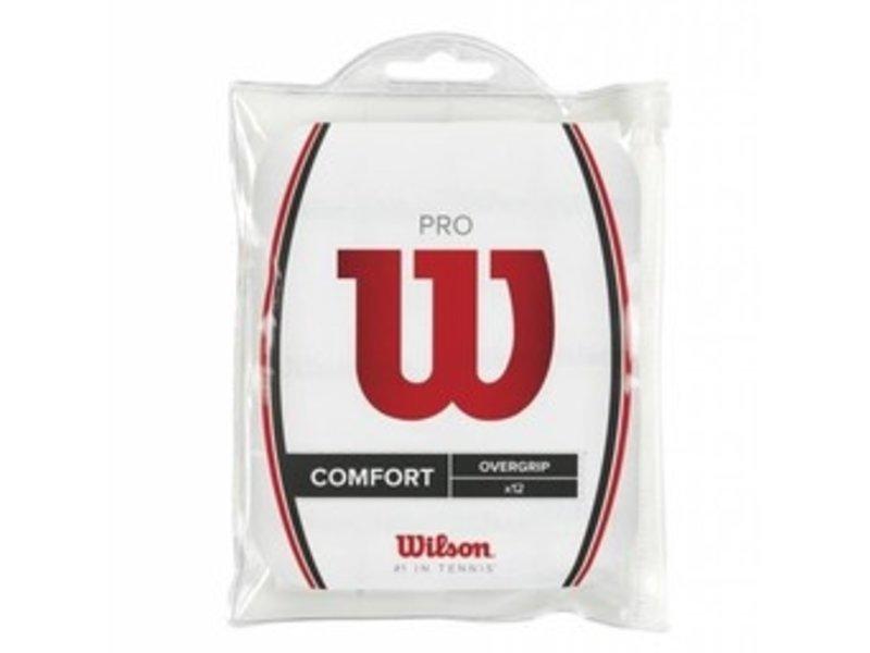 Wilson Pro Overgrip 12 pack White