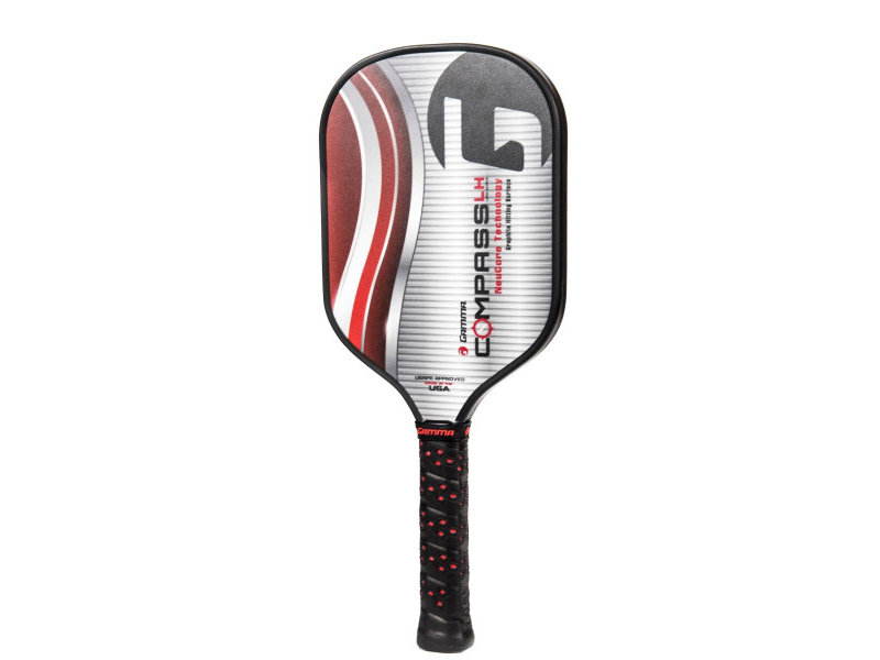 Gamma Compass LH Pickleball Paddle (Red)