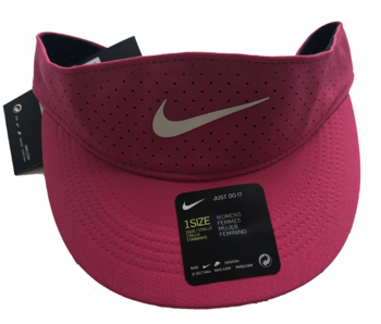 Nike W Nikecourt Advantage Visor Vivid Pink