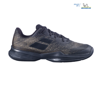 Babolat Jet Mach III AC Black/Gold Men's Shoes