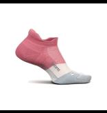 Feetures Elite Max Cushion No Show Tab Socks  Polychrome Pink M