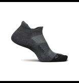 Feetures Elite Max Cushion No-Show Tab Socks Grey M