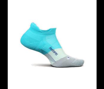 Feetures Elite Light Cushion No Show Tab Socks AI Aqua M