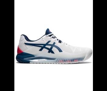 Asics Gel-Resolution 8 White/Mako Blue Men's Shoe