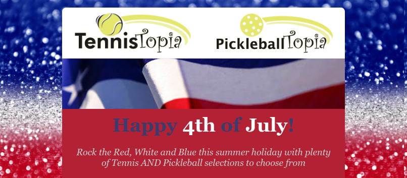 Get your Red, White and Blue 4th of July gear here