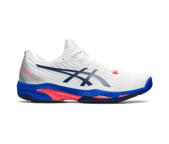 Asics Solution Speed FF 2 White/Peacoat Women's Shoes