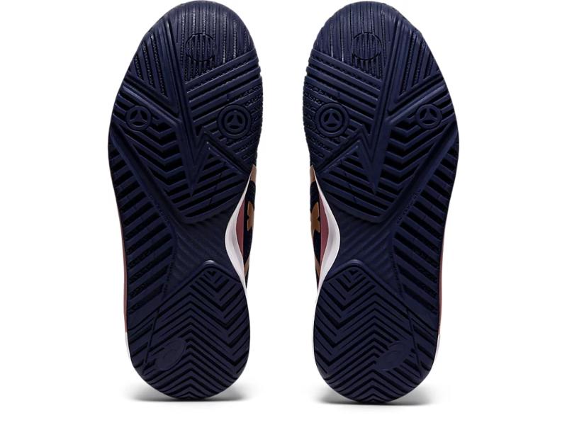 Asics Gel Resolution 8 Peacoat/Rose Gold  Women's Shoe