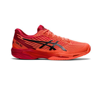 Asics Solution Speed FF 2 Tokyo Sunrise Red/Eclipse Black Men's Shoe