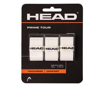 Head Prime Tour Overgrip 3 pack White