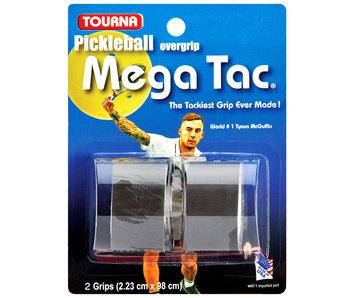Tourna Tourna Grip Mega Tac Pickleball 2 Pack Black