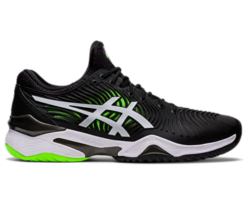 Asics Court FF 2 Black/Green Gecko Men's Shoe