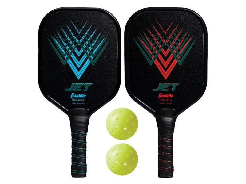 Franklin 2 Player Aluminum Paddle and Ball Set