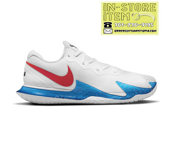 Nike Vapor Cage 4 Rafa White/Red/Blue Men's