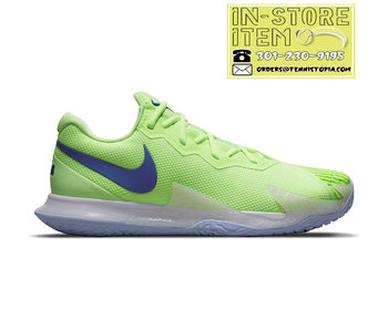 Nike Vapor Cage 4 Rafa Lime Glow/Blue Men's