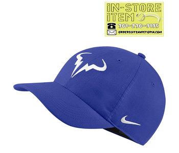 Nike Rafa Heritage Hat Royal Blue/White