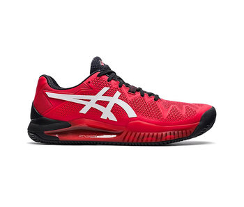 Asics Gel-Resolution 8 Clay Red/White Men's Shoe