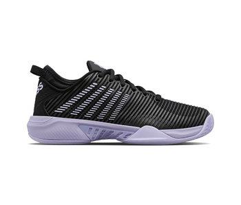 K-Swiss Hypercourt Supreme Black/Purple Women's Shoes