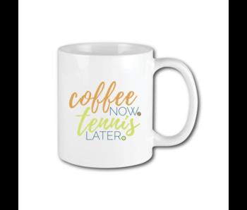Racquet Inc Coffee Now Tennis Later Mug
