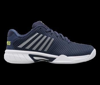 K-Swiss Hypercourt Express 2 Blue/Moonlight Junior Shoe
