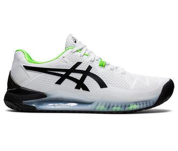Asics Gel-Resolution 8 White/Green Gecko Men's Shoe