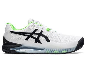 Asics Gel-Resolution 8 Wide White/Greco Green Men's Shoe